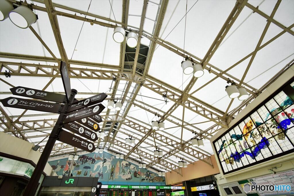 ここは上野駅。
