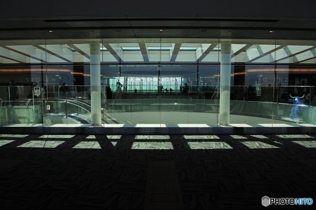 午後の空港