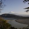 富士山と富士川と紅葉