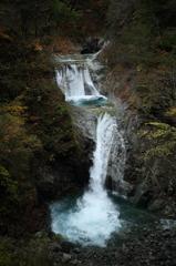 西沢渓谷の見える場所