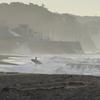 波霧の七里ヶ浜