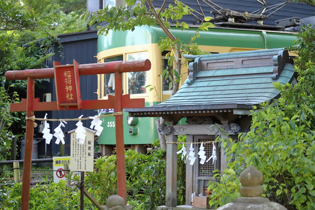 江ノ電(極楽寺~長谷)
