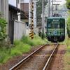 夏の江ノ電(和田塚駅~由比ヶ浜駅)