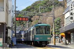 江ノ電(江の島~腰越)