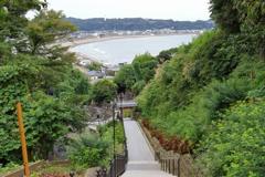 鎌倉 成就院からの由比ヶ浜