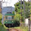 江ノ電(和田塚駅~由比ヶ浜駅)
