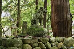 狛犬(HDR)