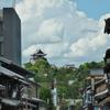 犬山城の夏