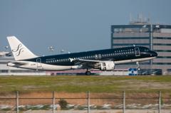 A320タッチダウン