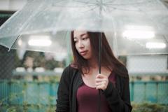 今日も雨降り。