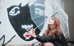 傘 × ガール***
