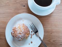 cream puff&coffee