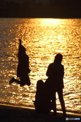 夕陽に向かって Ⅱ