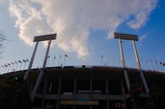 さようなら! 国立霞ヶ丘競技場。