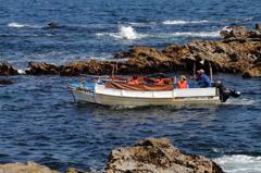 城ヶ島の観光船