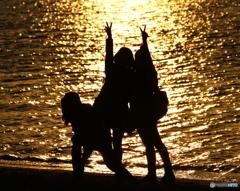 夕陽に向かって Ⅰ