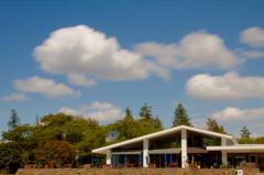 雲とレストラン