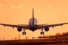 Landing scene