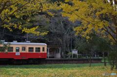 秋、小湊鉄道