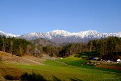 高原の眺め