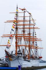 満船飾とミニ展帆