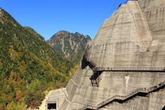 ダムの側壁
