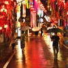 雨の七夕祭り