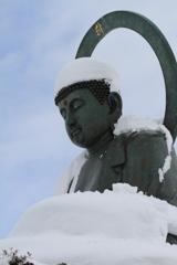 雪のお帽子