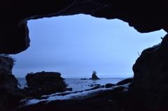 義経雨はらしの岩