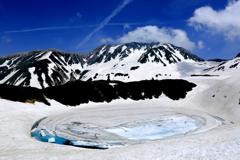 雪解けのミクリガ池
