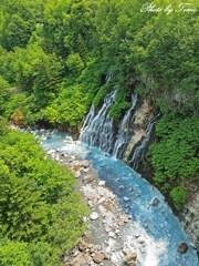 美瑛町白髭の滝 2012
