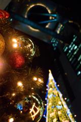 天空のクリスマスツリー♪