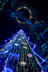 天空のクリスマスツリー♪♪