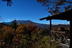 地蔵峠からの御嶽山