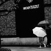 雨降りの街角