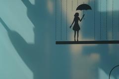 心の中に傘をさして