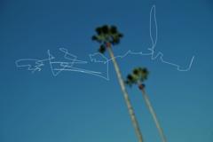 空に落書き
