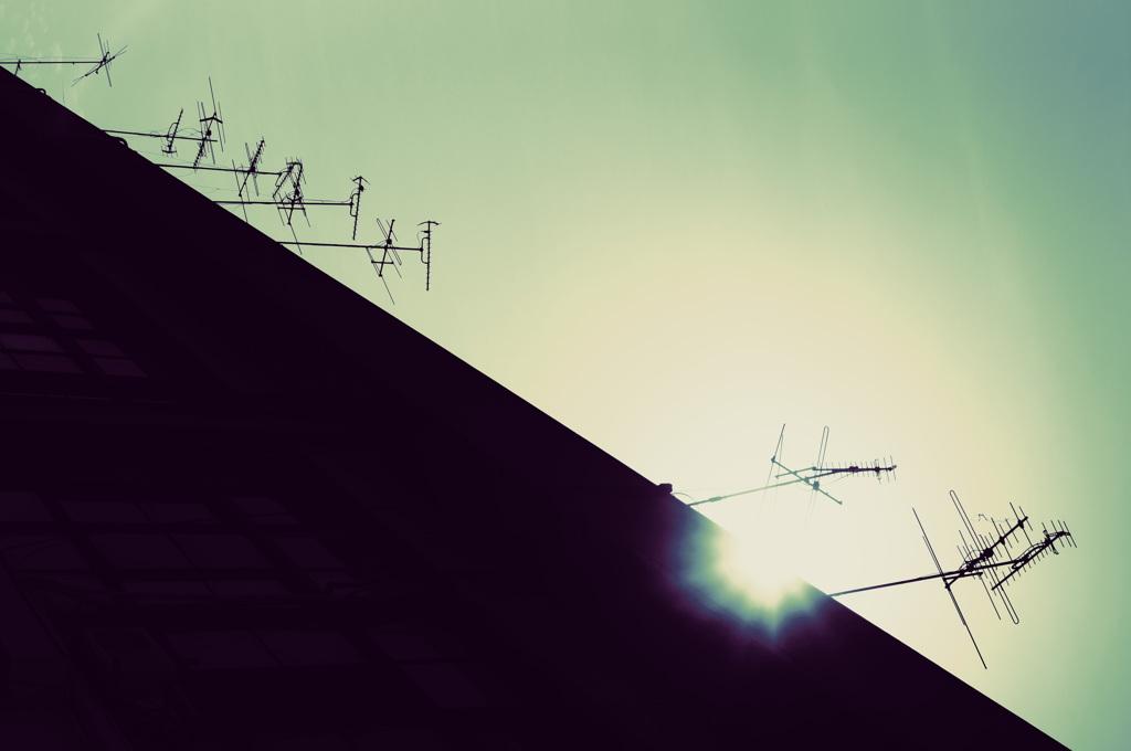 電波の来る方向