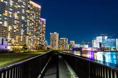 晴海臨海公園からの夜景