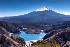 精進峠からの富士山