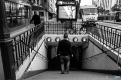 Escalier de métro♪