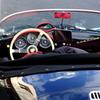 Porsche with a red sheet♪