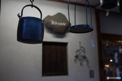 Iindigo Blue iron kettle♪