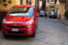 Peugeot rouge♪