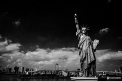 The statue of Liberty♪