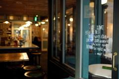 黄昏時のCafé&Bar