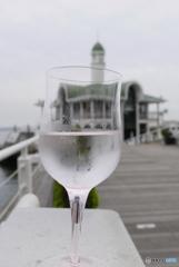 Wine glass heart♪