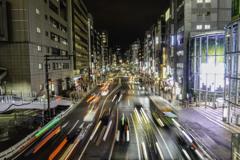 渋谷「明治通り」