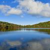 再現像「秋景白駒の池」