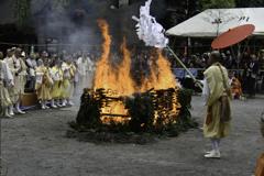 荒行「火渡り」